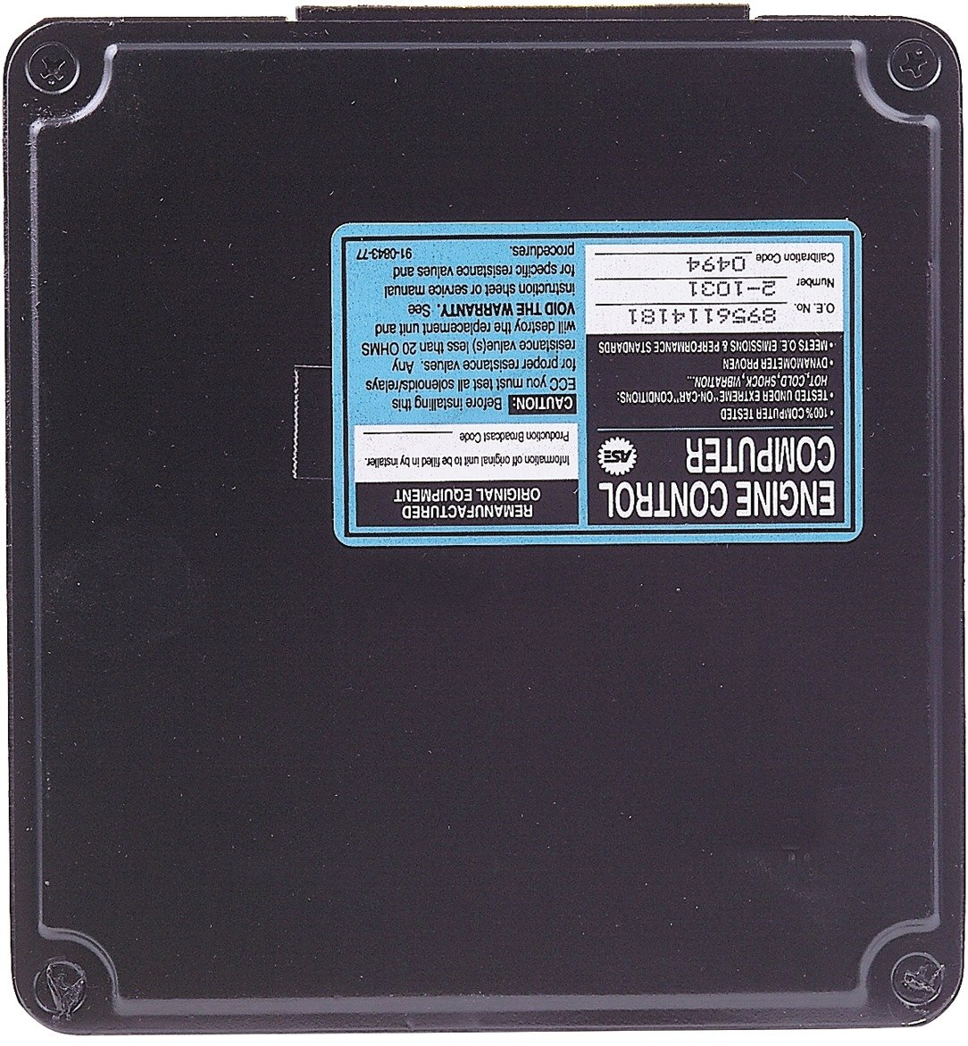 Cardone 72-1031 Remanufactured Import Computer A1 Cardone