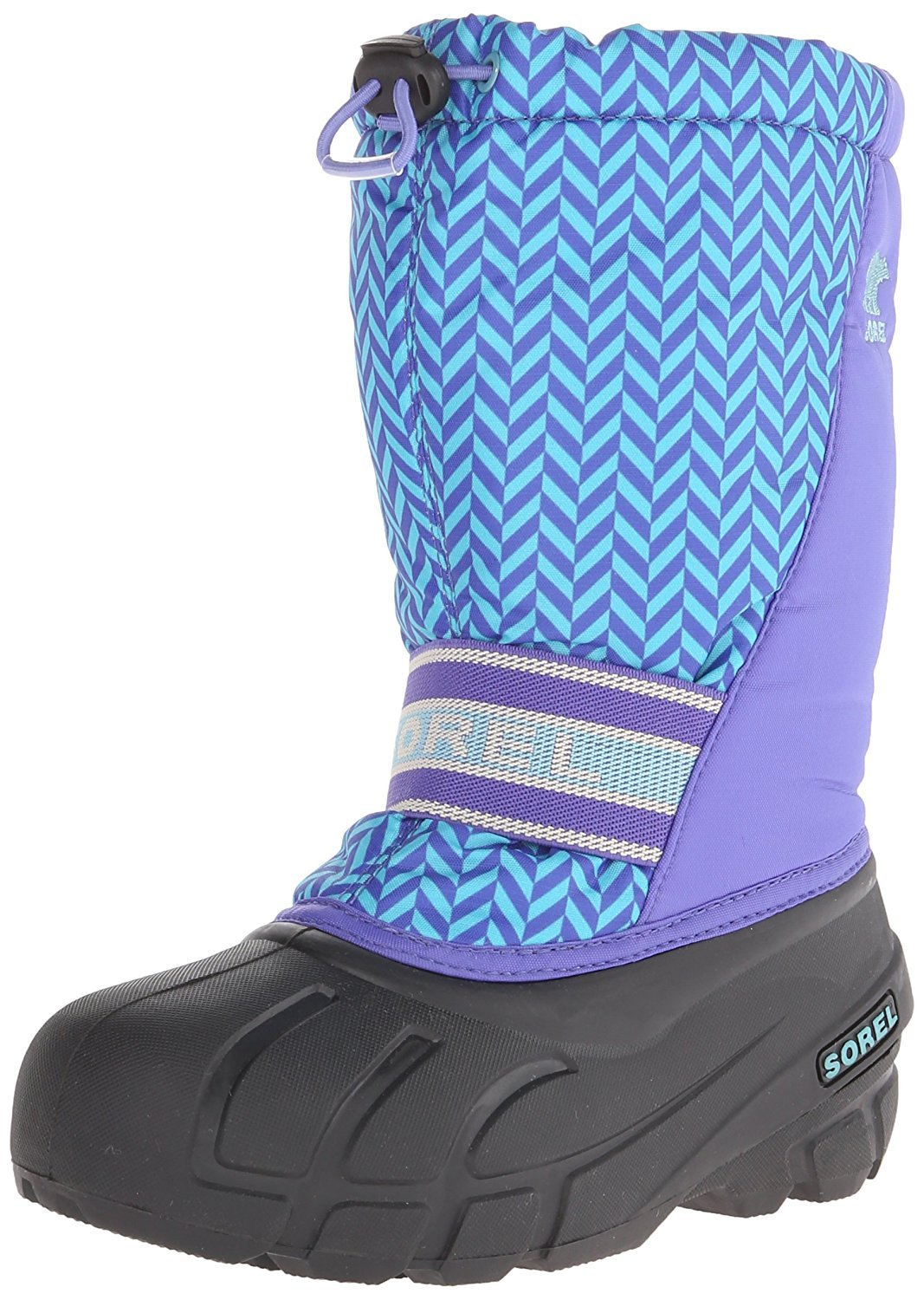 SOREL Cub Graphic 15 P LO Cold Weather Boot (Toddler/Little Kid/Big Kid), Purple Lotus, 6 M US Toddler