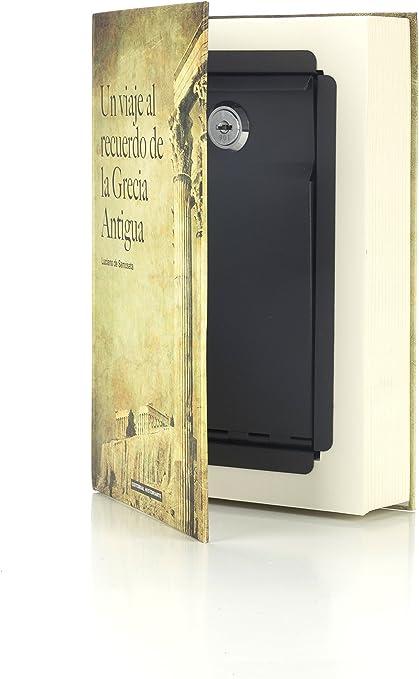 154 X 222 X 44 Mm Multicolor Arregui C9381 Caja De Caudales Camuflada Como Libro De Texto
