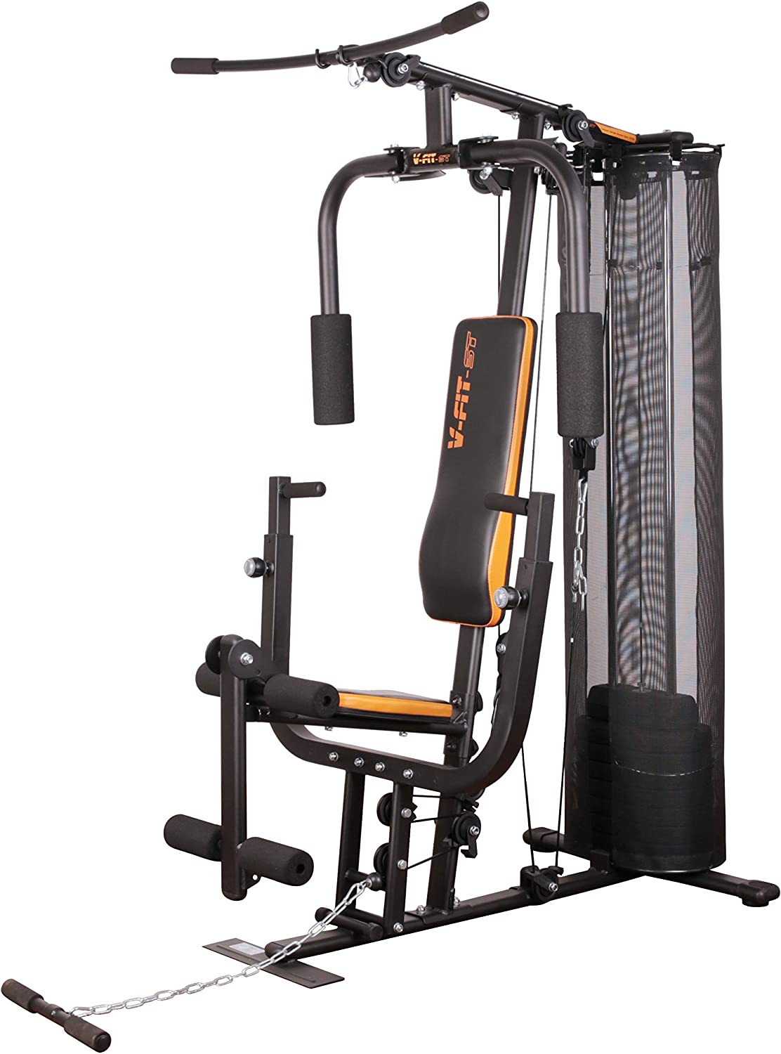 V-fit Unisex's CUG-2 Herculean Compact Upright Home Gym