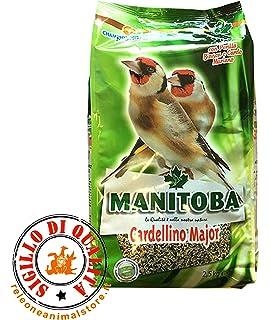 Manitoba Jilguero Major 2,5 kg Alimento completo para Cardellini