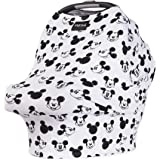 """Disney Collection The Original Milk Snob Infant Car Seat Cover and Nursing Cover Multi-Use 360° Coverage Breathable Stretchy""""Mickey Sketch"""""""