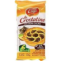 Le Crostatine Al Cacao Pacco Da 6 - Tartlets 6 Pcs 8.47oz Made in Italy