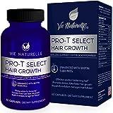 Hair Growth Vitamins with Biotin 5000mcg - DHT Blocker & Saw Palmetto Hair Loss Supplements for Women and Men - Hair Skin and Nails Vitamins - 60 Vegetarian Pills Capsules