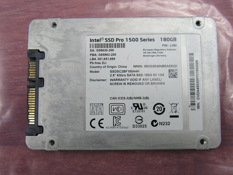 Intel Pro 1500 Series 180GB Solid State Drive SSD SSDSC2BF180A4H HP735236-001