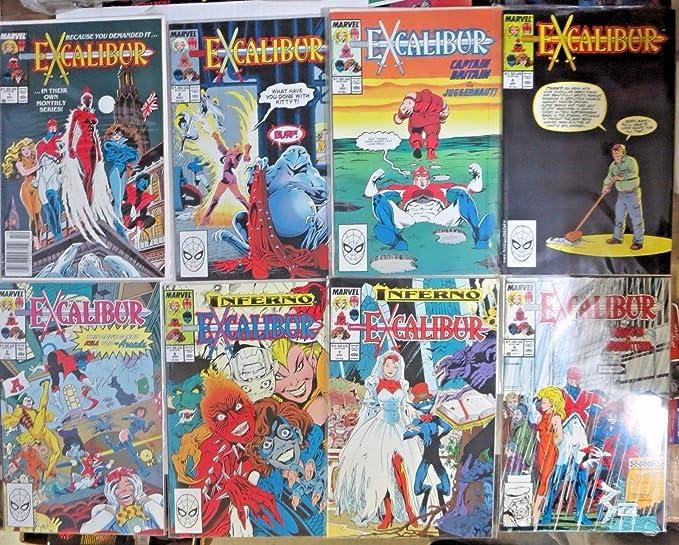 Excalibur 1988 series # 24 very fine comic book