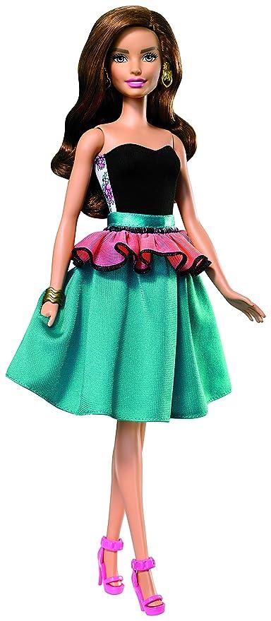 Amazon.es: Barbie - Muñeca, Moda Mezcla y combina (Mattel DJW59): Juguetes y juegos