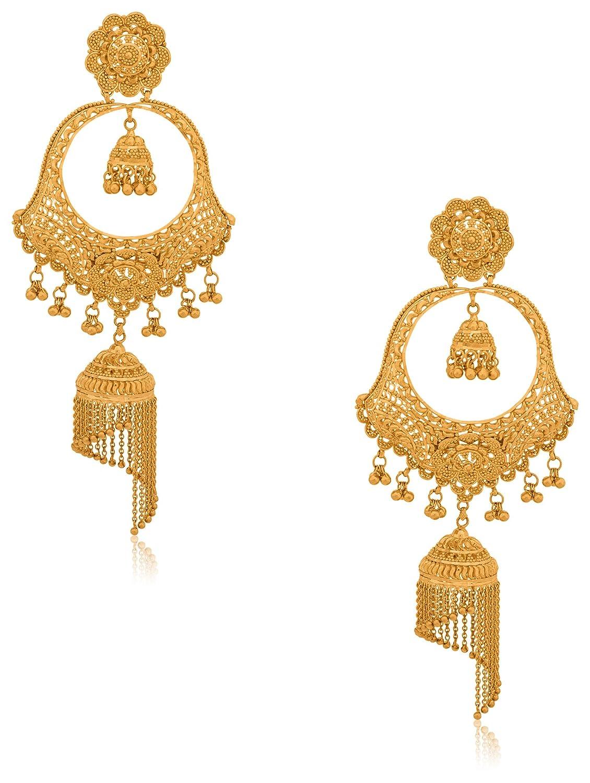 Cute Senco Gold Jhumka Contemporary - Jewelry Collection Ideas ...