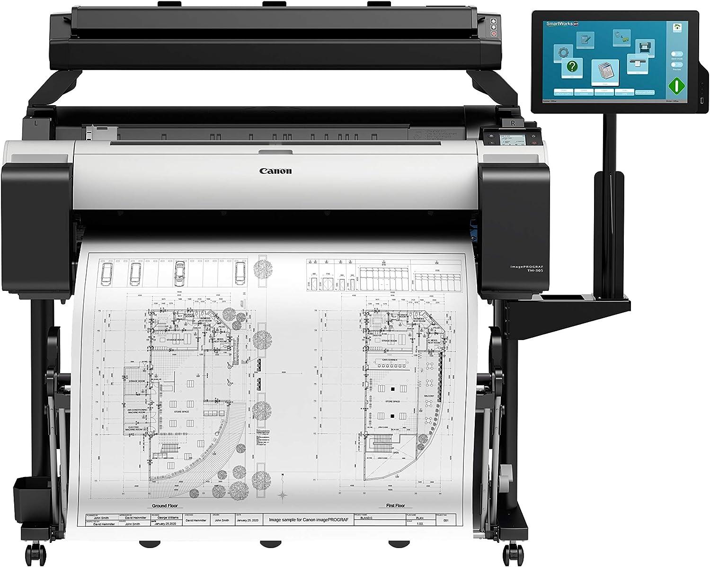 Canon imagePROGRAF TM-305 T36 Großformatdrucker con Scanner,Monitor y Stand (A0, 91,44cm, 2.400x1.200 dpi, LAN, WLAN): Amazon.es: Informática