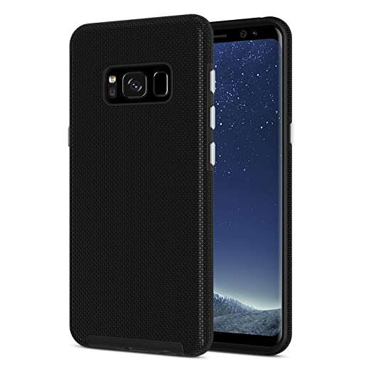 3 opinioni per Cover Galaxy S8 , SPARIN Samsung Galaxy S8 Custodia Sottile e Rigida di TPU + PC