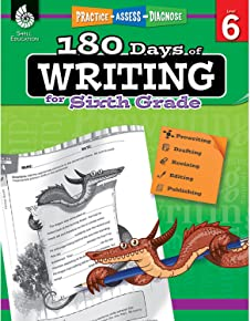 180 Days of Writing for Sixth Grade (180 Days of Practice)