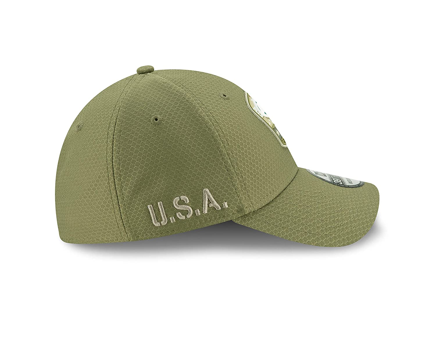 New Era New York Jets 39thirty Stretch Cap On Field 2019 Salute to Service