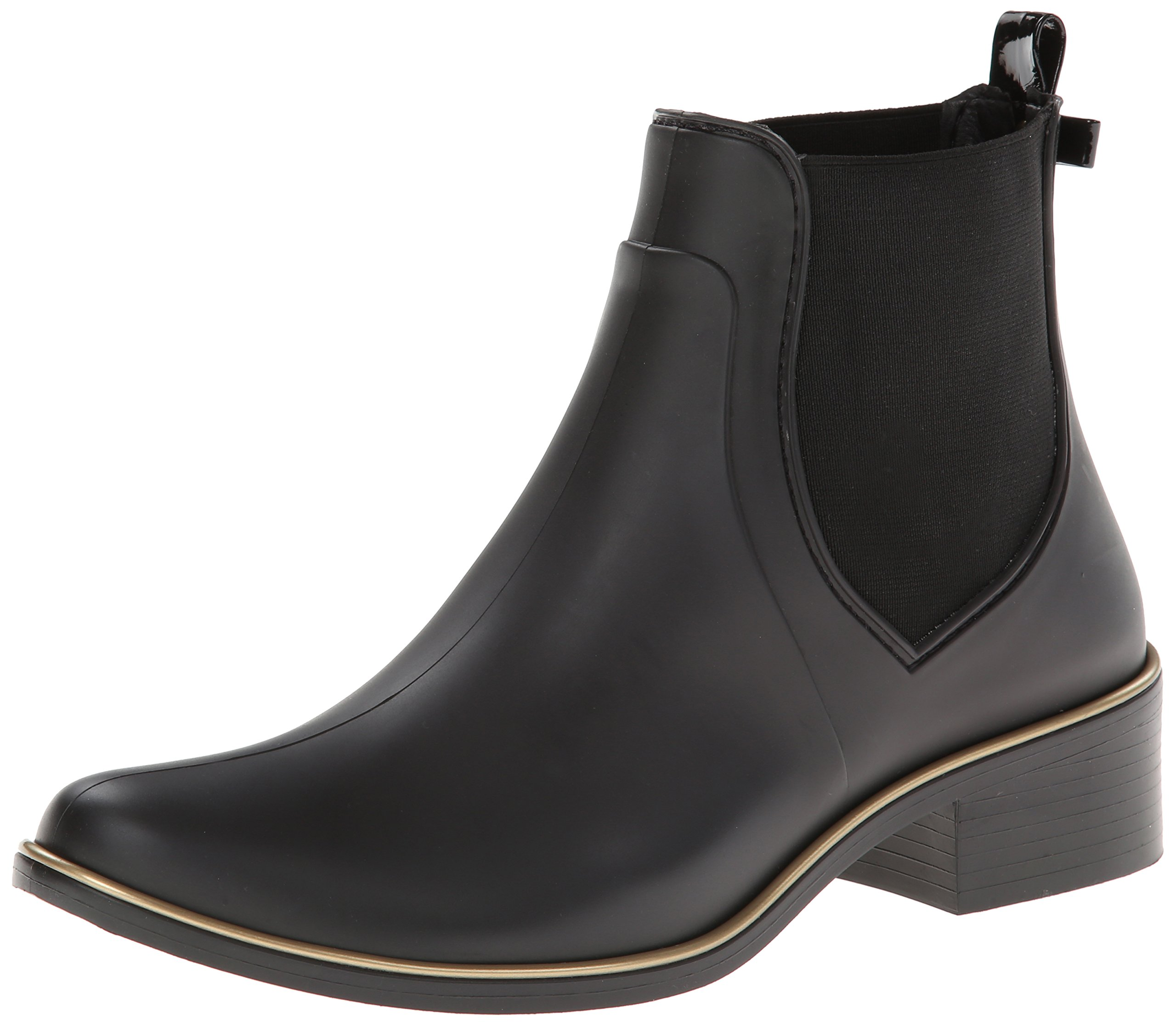 kate spade new york Women's Sedgewick Rain Shoe, Black, 8/9 M