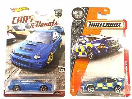 Amazon.com: Hot Wheels Subaru Impreza WRX coches y donuts ...