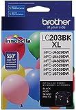 Brother Printer LC203BK High Yield Ink Cartridge, Black