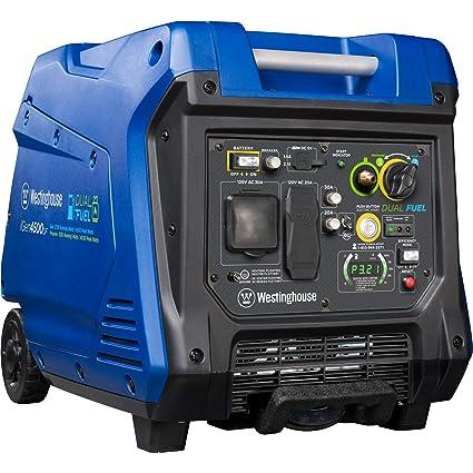 amazon com westinghouse igen4500df dual fuel inverter generator rh amazon com