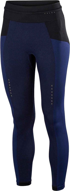 Falke Subtlety Long W Mallas largas para Mujer sutileza – Tela Deportiva de Rendimiento, Azul (Dark Night 6177), S, 1 Pieza, Small