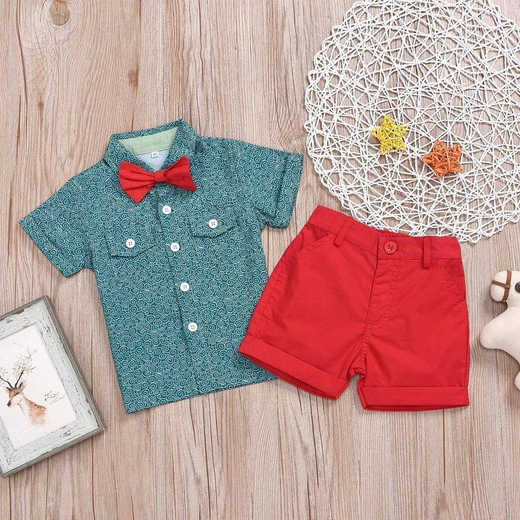 1-5 A/ños,SO-buts Infantil Beb/é Ni/ños Camisetas De Verano De Manga Corta Tops Pantalones Cortos Traje De Caballero Fiesta Trajes De Boda Ropa Conjunto