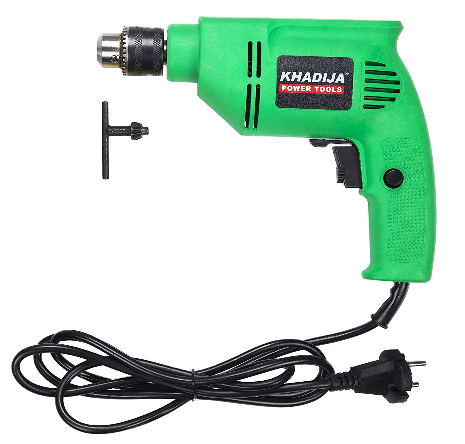 KHADIJA HI-MAX 400W Reverse Forward Rotation Drill Machine with Speed Regulator (Multicolour)