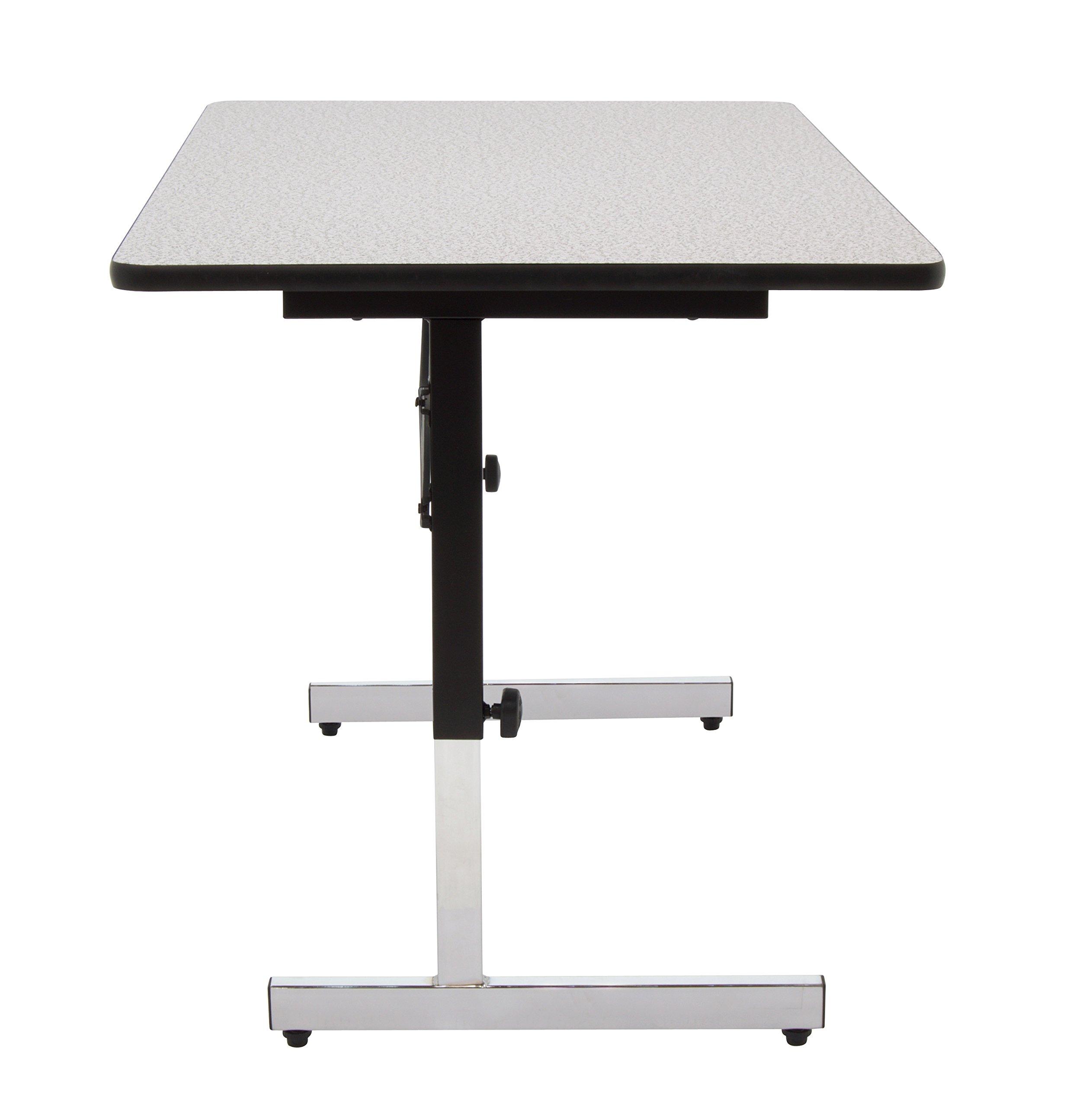 Calico Designs 410382.0 Adapta Desk, 48'', Black/Spatter Gray by Calico Designs (Image #5)