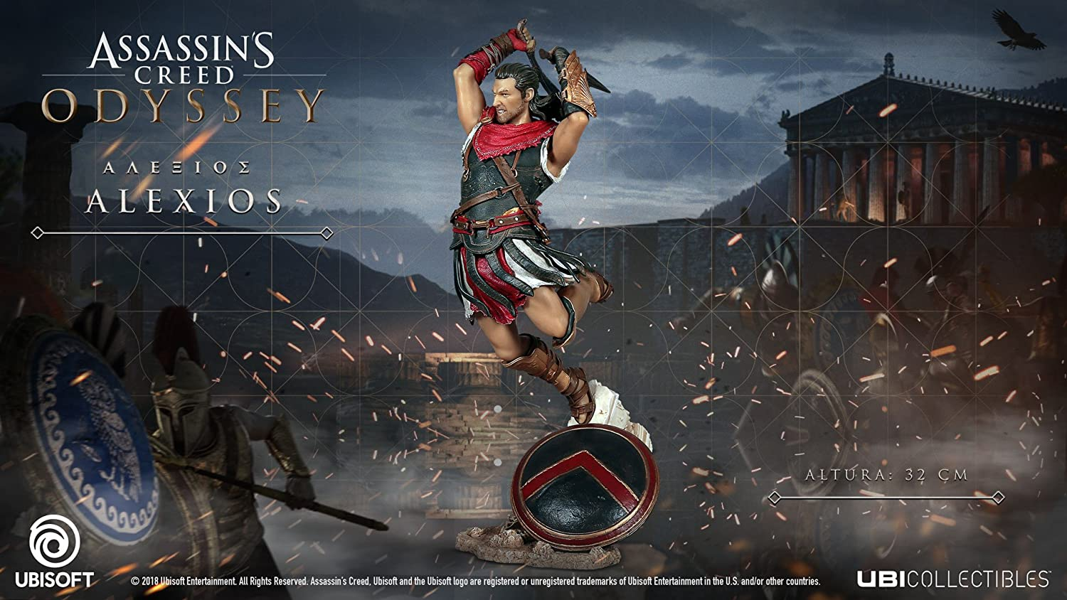 Amazon Com Assassin S Creed Odyssey Figurine Alexios Video Games