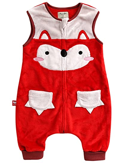 Vaenait baby 1-7Y Cozy Warm Fleece Kids Girls Wearable Blanket Sleeper MIU  Fox S bc5609496