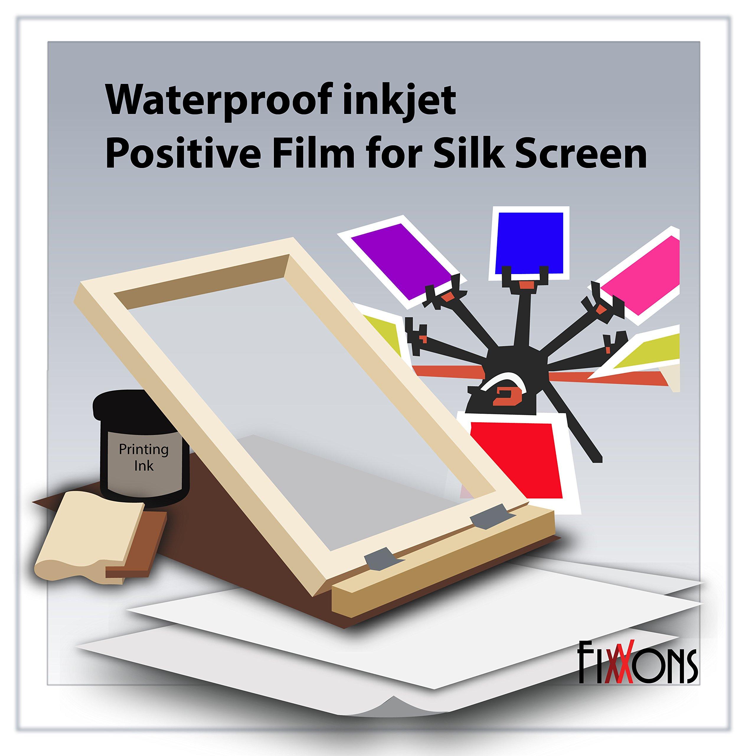 WaterProof Inkjet Transparency Film 17'' x 100' Roll
