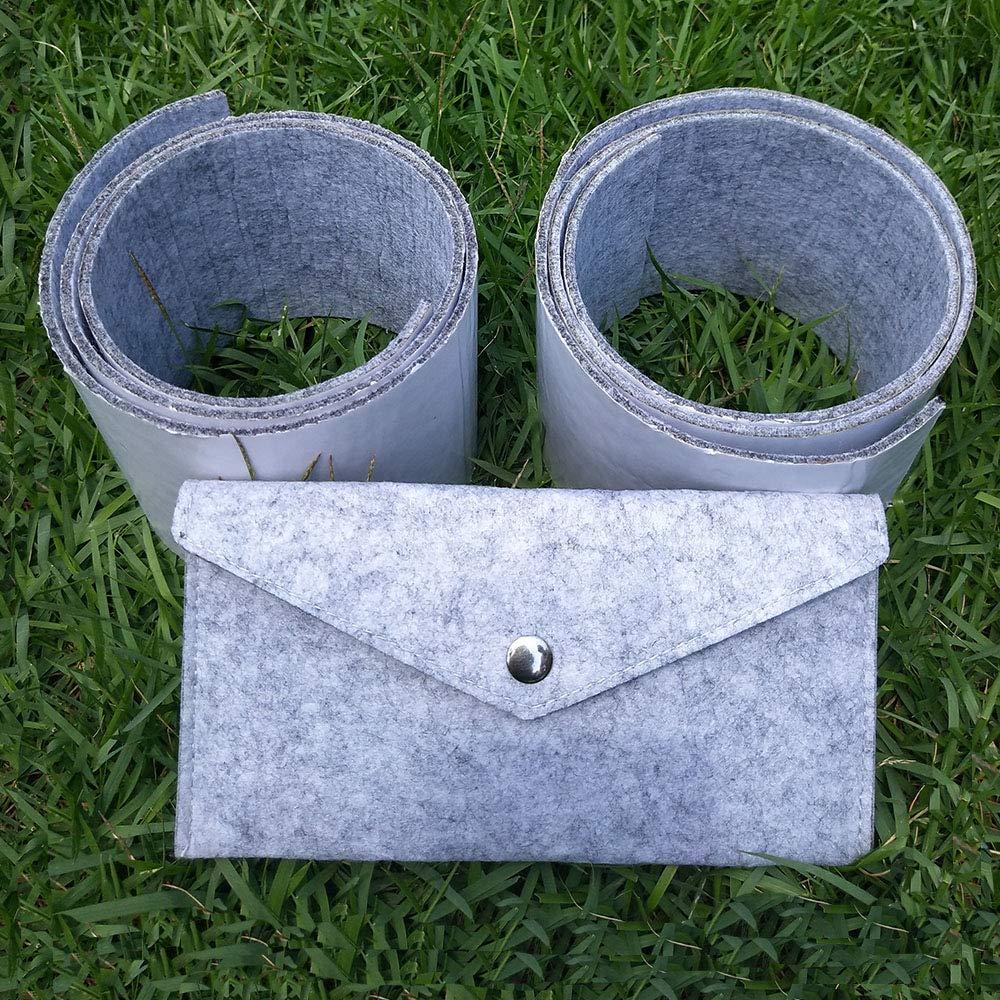 Almohadilla adhesiva para muebles para mesa,sof/á,incluyendo bolsa de fieltro Rollos de tiras de fieltro 2 unidades DIY almohadillas protectoras de suelo,almohadillas de fieltro para patas de silla