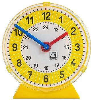 Unbekannt Schüleruhr A 11 Cm Durchmesser Uhrzeiten Lesen