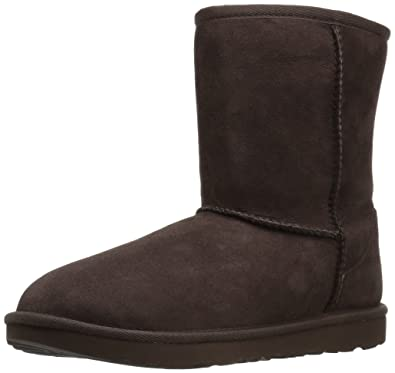 UGG Kids K Classic II Boot, Chocolate, 2 M US Little Kid