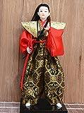 "Japanese Samurai Art doll decor Katana Sword Ninja Shi Warrior Figurine statue 12"""