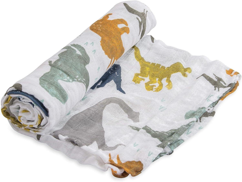 Mousseline coton demmaillotage simple Brain Freeze 1 pack Little Unicorn