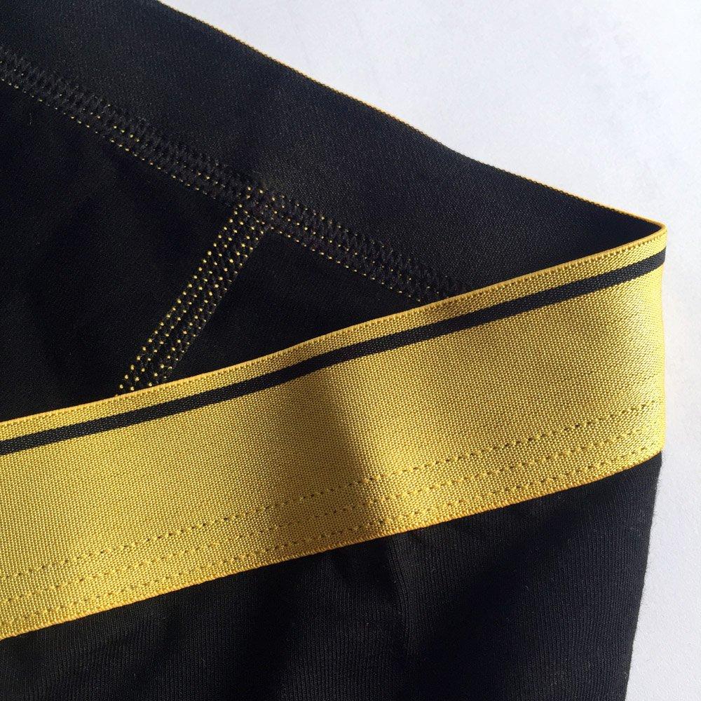 BRIGHT GG Boxer Briefs Mens Underwear Men Pack Soft Modal Bamboo Breathable Underwear Spandex Trunk