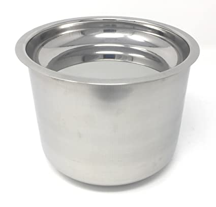 PREMIUM Deep Cooker Pot Suitable for 3Litres, Inner Lid Cooker - Stainless Steel