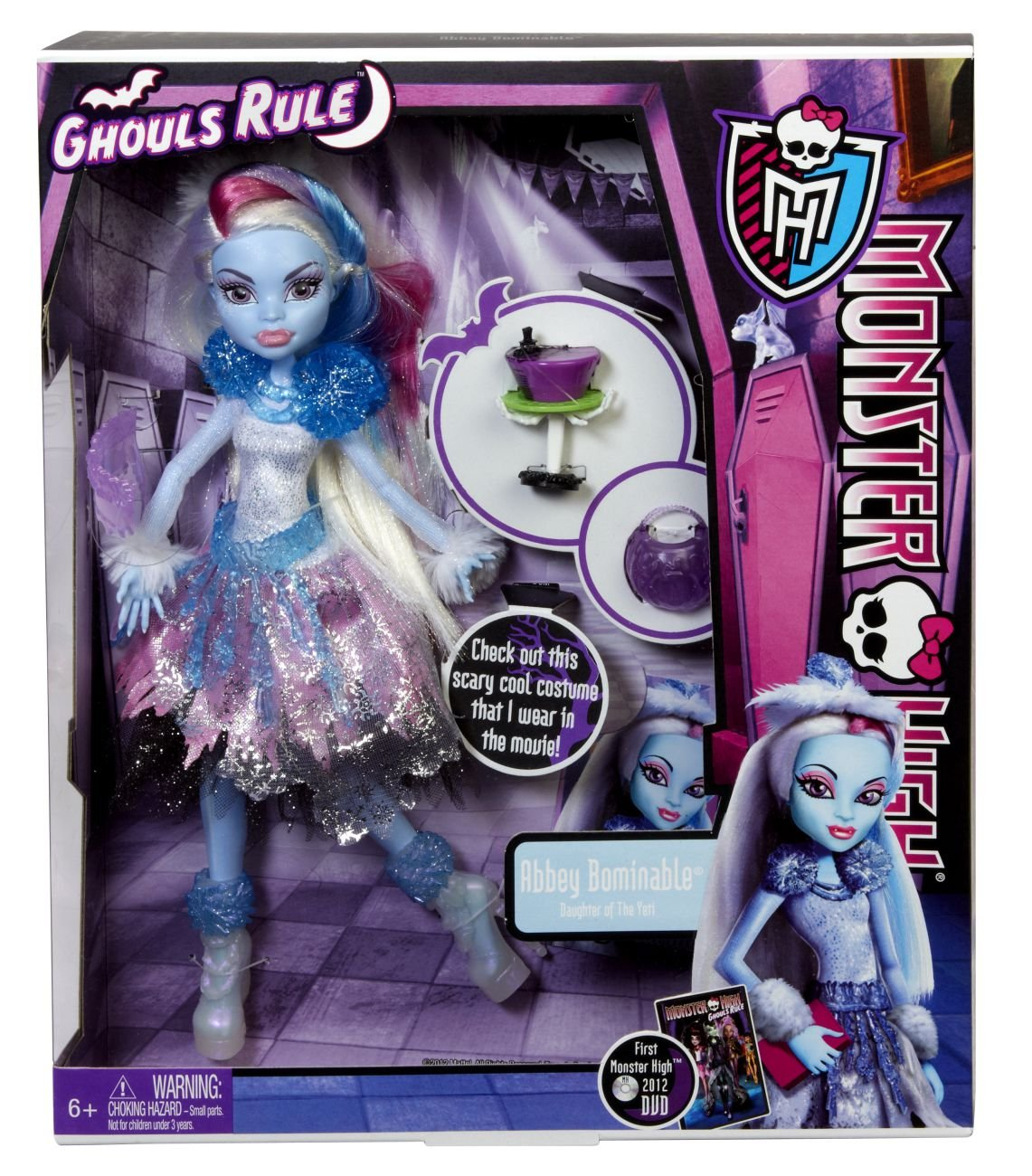 Uncategorized Monster High Abby amazon com monster high ghouls rule abbey bominable toys games