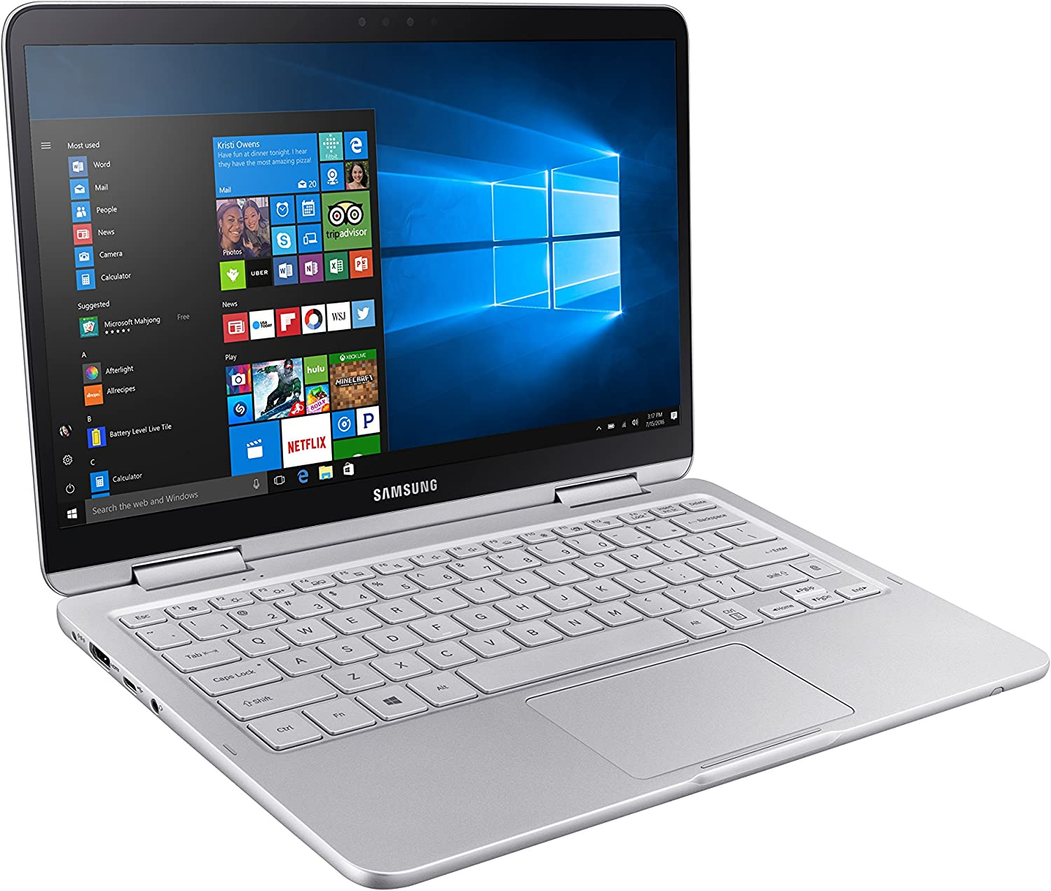Samsung Notebook 9 Pen NP930QAA-K01US 2-in-1 Laptop (Windows 10 Home, Intel Core i7, 13.3
