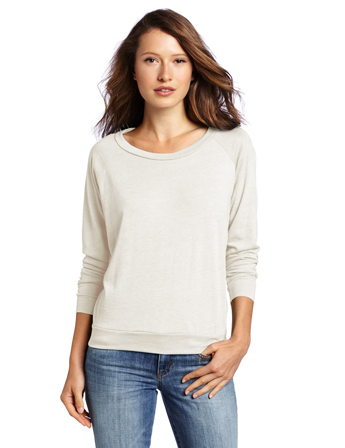 Alternative Women's Slouchy Pullover Sweatshirt at Amazon Women's ...