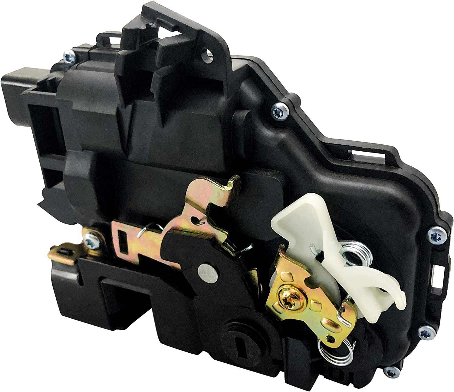 MYSMOT Door Latch /& Lock Actuator Assembly Compatible for Front Left VW 3B1837015AJ 931-500 MAP01700015-1