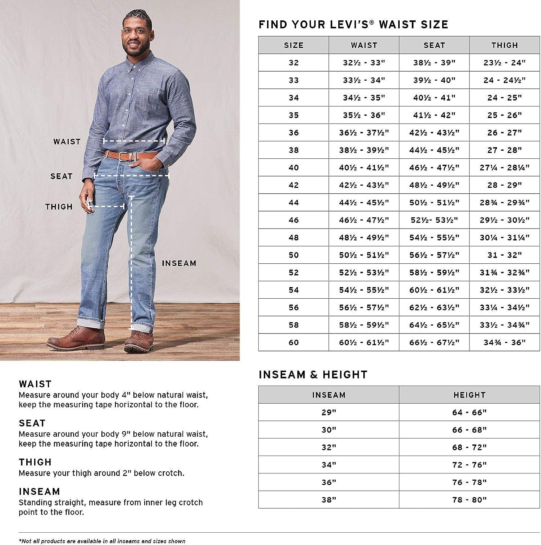 Levi's 18757-0028 Jeans Homme White Bull Denim
