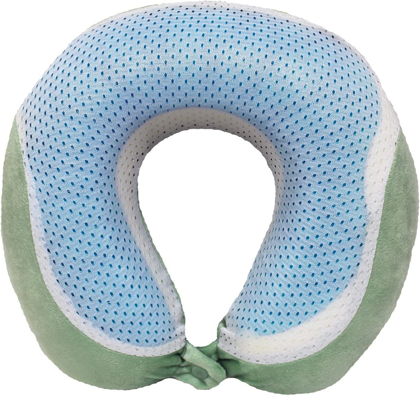 Travel Gel Memory Foam Neck Pillow with
