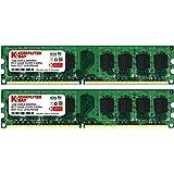 Komputerbay 2Go (2X 1Go) DDR2 800 MHz de PC2-6400 Mémoire DDR2 800 (240 PIN) DIMM bureau
