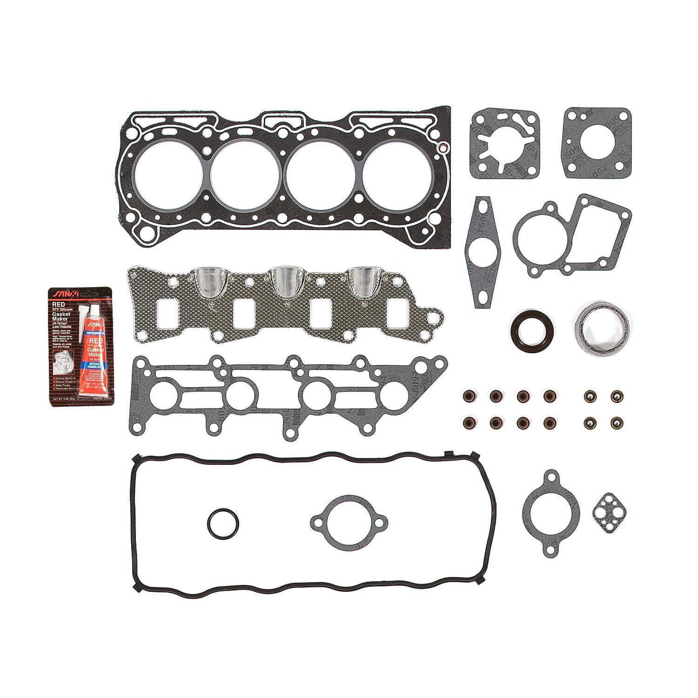Evergreen ok8002 95 - 97 Geo Metro Suzuki Swift 1.3L SOHC 8 V Motor Kit de reconstrucción: Amazon.es: Coche y moto