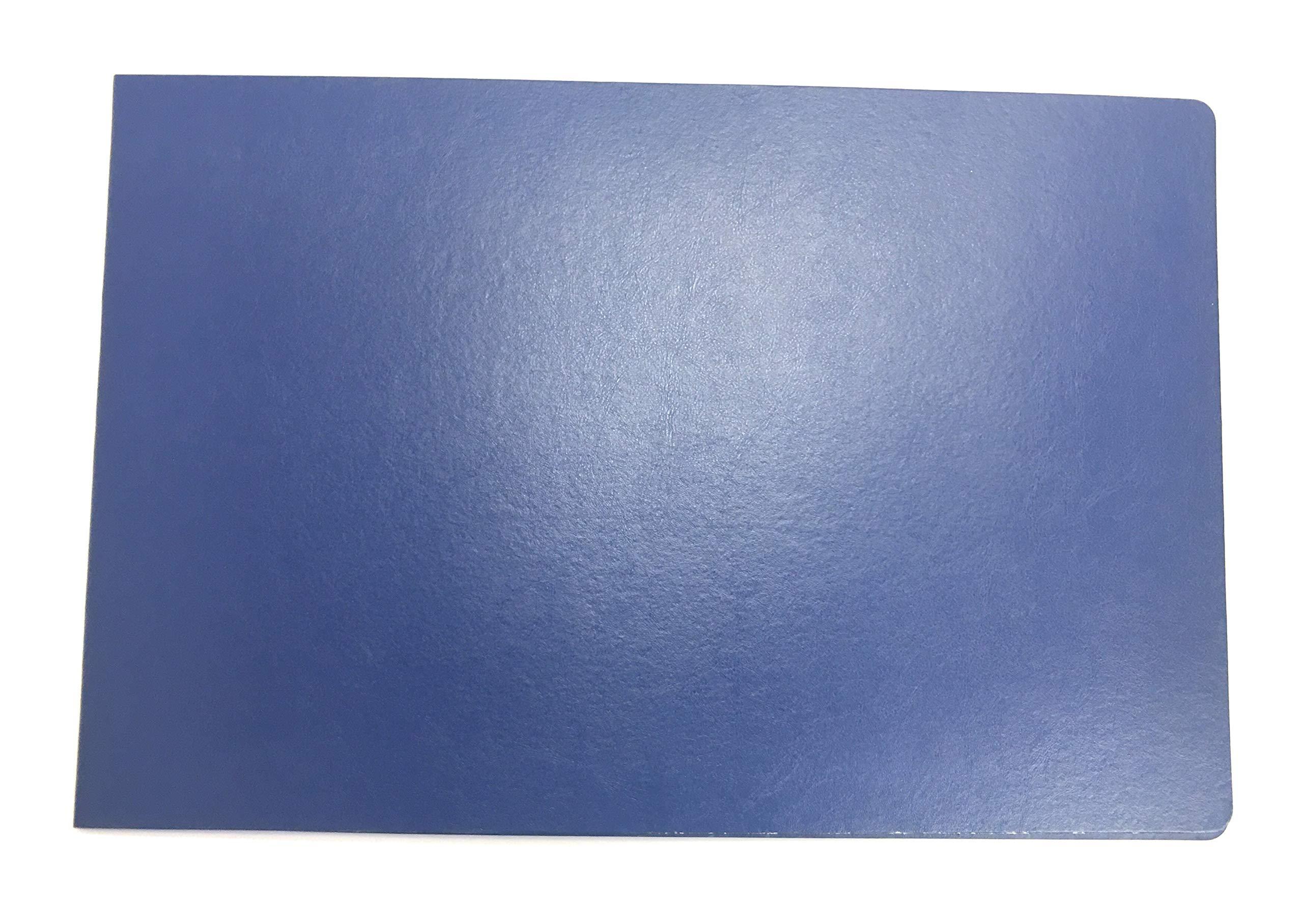 11x17 Fiberboard Pressboard Presentation Binder, Pack of 10 (Blue) by Ring Binder Depot
