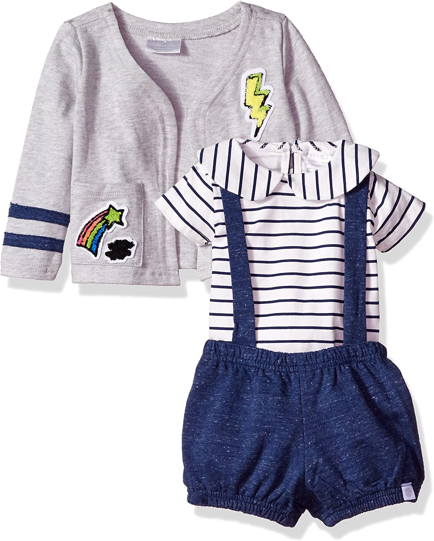 Blue Rosie Pope Girls Baby Newborn /& Infant Playwear Sets 18M