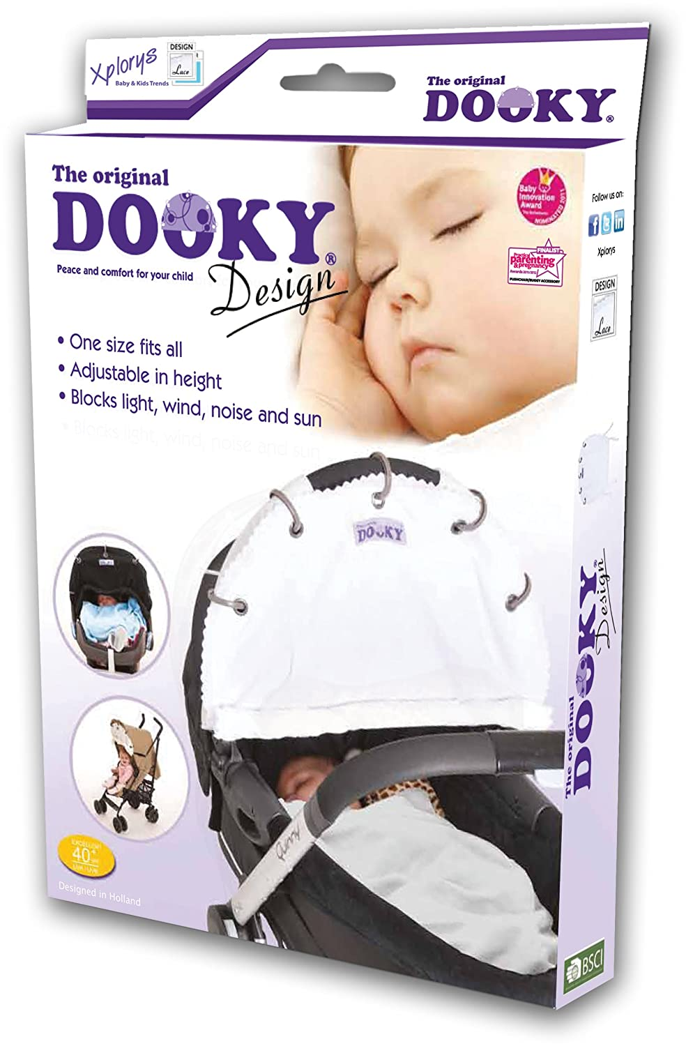 Dooky Shade - Choose Your Colour/Design Blue Stars