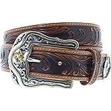 823e8bb25c6b05 Tony Lama Belts C50499 KAITLYN CRISTAL Ledergürtel für Damen Braun ...