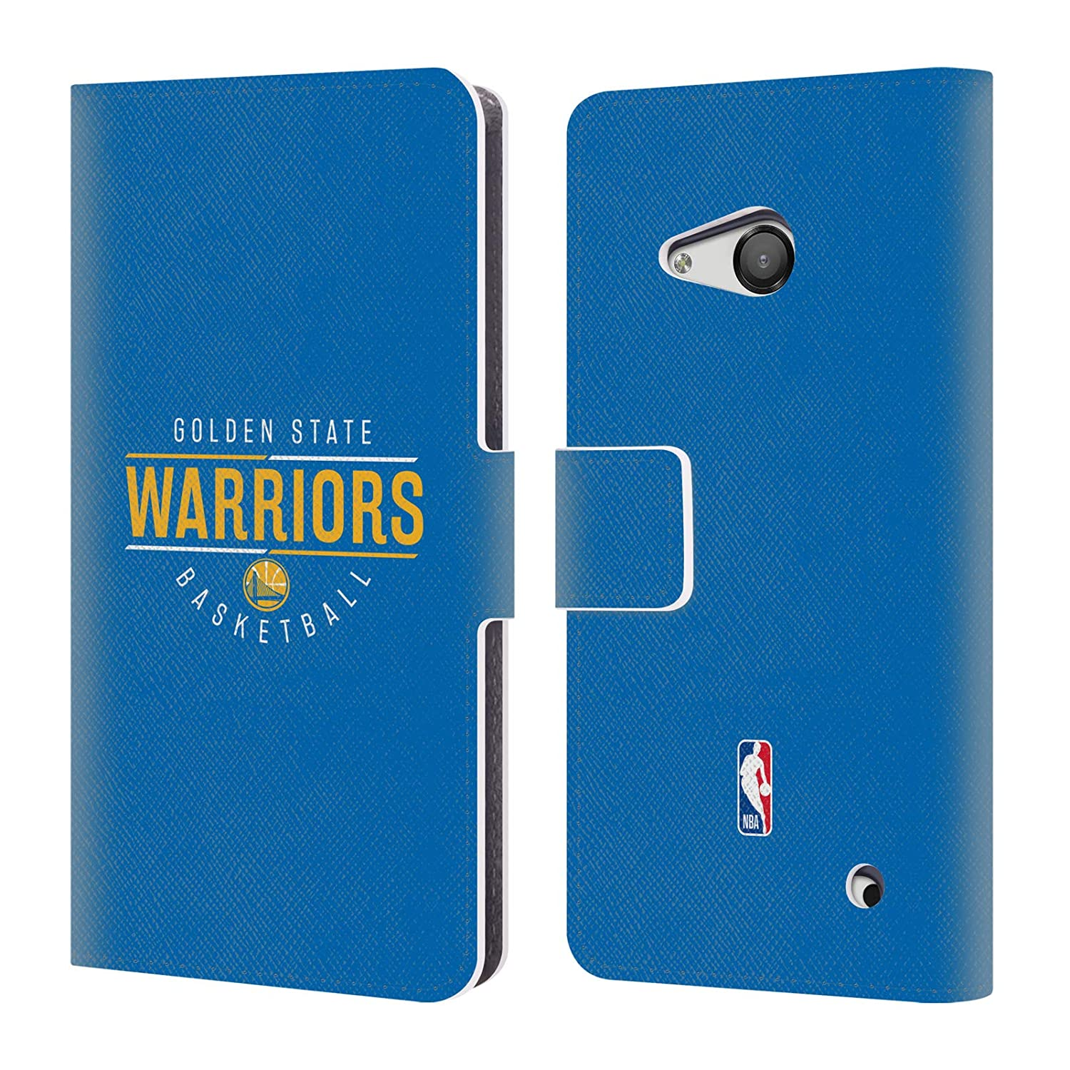 Amazon.com  Official NBA Road Jersey 2018 19 Golden State Warriors Leather  Book Wallet Case Cover for Microsoft Lumia 550  Cell Phones   Accessories a268f51a0