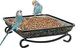 MIXXIDEA Ground Platform Bird Feeder