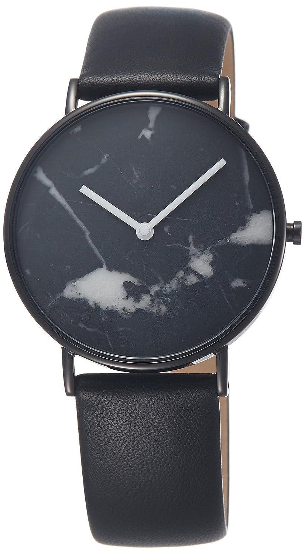 The Horse Stone Zwart Horloge C1