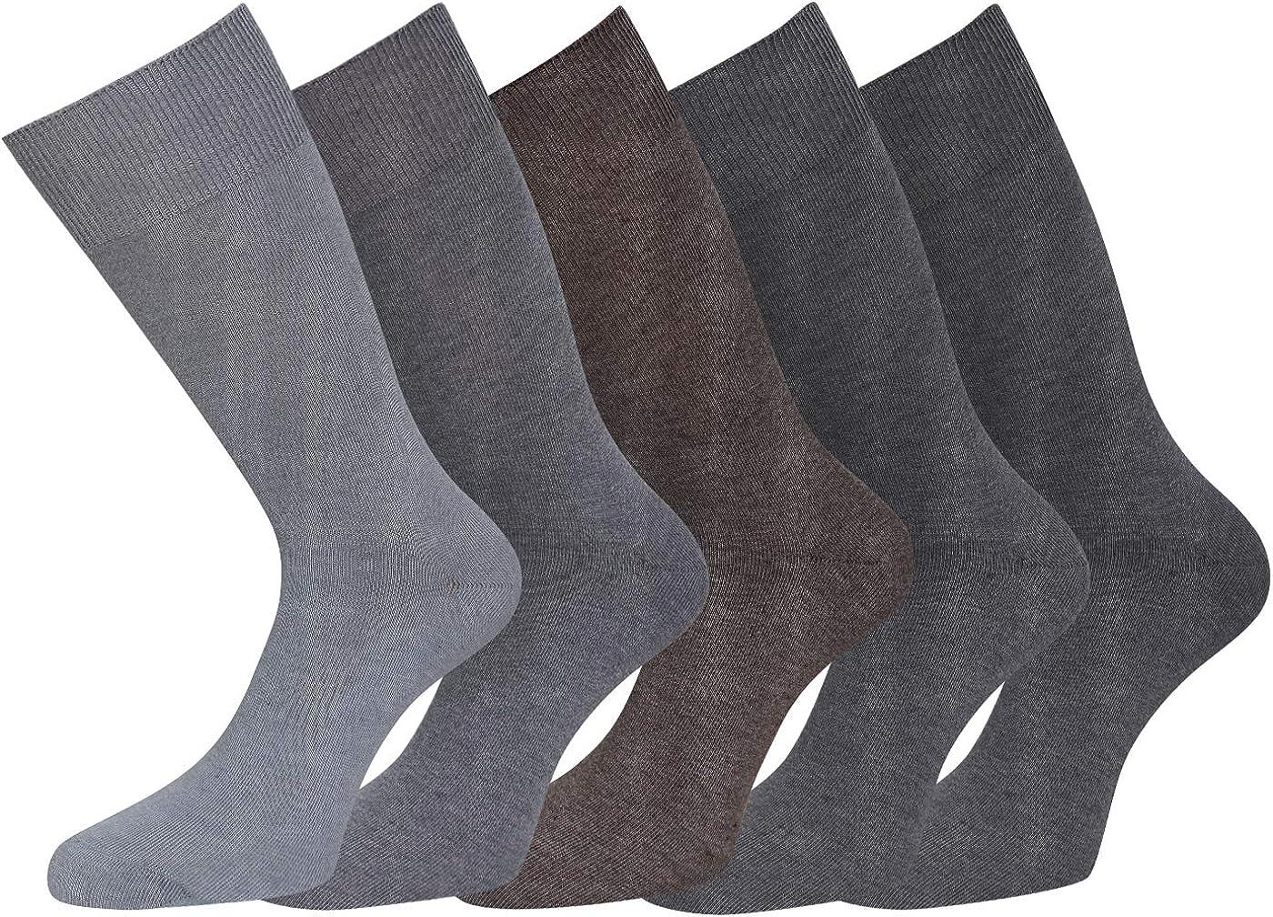 kb-Socken 5 pares de calcetines calcetines para hombre diabéticos ...